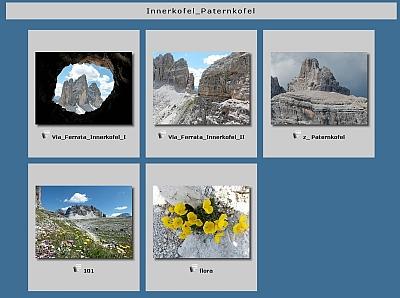 Via Ferrata - Innerkofel
